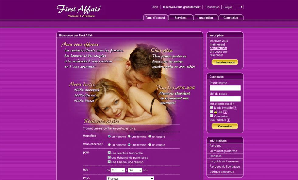 Un site de qualit pour des rencontres libertines facilit es
