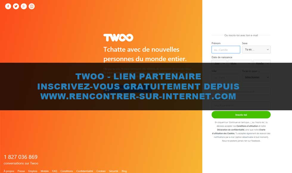 Site de rencontre twoo connection